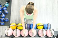 Kettle Bell Time (Jeremy J Saunders) Tags: gym kettle bells workout woman jeremyjsaunders jjs d800 nikon fitness above