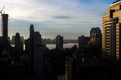 West Side Sky (MikhailNY) Tags: sony a6500 new york city nikkor 28mm f28