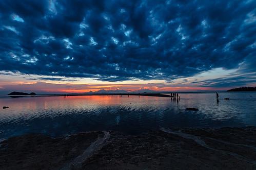 Sonnenuntergang - Sunset Koh Phangan Thailand