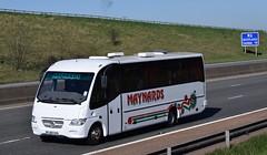 YJ05XXD  Maynards, Newcastle Upon Tyne (highlandreiver) Tags: yj05xxd yj05 xxd maynards travel newcastle upon tyne mercedes benz bus coach coaches m6 penrith cumbria