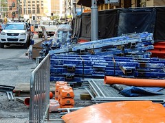 CBD & South East Light Rail - George Street - Update 14 Apil 2017 (3) (john cowper) Tags: cselr georgestreet grosvenorstreet bridgestreet bondstreet jamiesonstreet goodfriday tracklaying sydneylightrail alignment altrac alstom transportfornsw infrastructure sydney newsouthwales