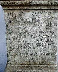 Altar CIL II2/7, 233 (Carmen Escobar Carrio) Tags: taurobolium altar latine latin romano arte cibeles metroacos documentos museo arqueológico de córdoba