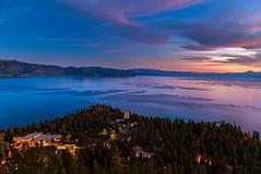 Lake Tahoe north shore (Mar