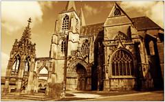 """La Basilique Notre-Dame d'Avioth et la """"Recevresse"""", Meuse, Lorraine, France (claude lina) Tags: france architecture lorraine gothique meuse avioth recevresse basiliquenotredamedavioth"""