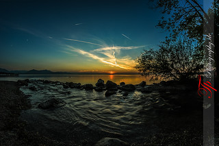 Sunset on Chiemsee