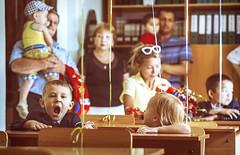 The first time at school (Ivan Bessedin) Tags: school girl kids knowledge littlegirl teachers littlesister школа september1 1сентября учителя деньзнаний