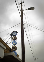 Fixer upper (hutchphotography2020) Tags: nikon streetlight drugs drugstore telephonewires storesign