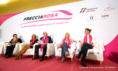 Presentazione FrecciaRosa 2014 (Ferrovie dello Stato Italiane) Tags: salute alta treno fs velocit frecce trenitalia treni ferrovie prevenzione frecciarosa