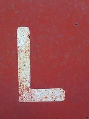L (timp37) Tags: letter l