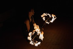 Fire Spinning (Photo by Jennifer Bedford)