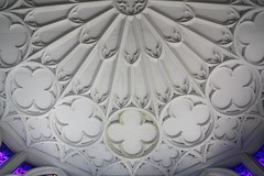 Strawberry Hill Gothick (richardr) Tags: old uk greatbritain england building london english heritage history architecture europe european unitedkingdom britain gothic ceiling historic georgian british europeanunion twickenham gothicarchitecture gothicrevival strawberryhill gothick