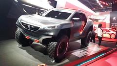 Peugeot 2008 DKR con el que Carlos  Sainz correrá el Dakar 2015