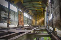 Interior Vagón Carga