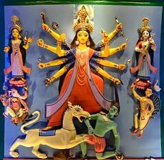 "Durga Puja in Kolkata 2014......  Telengabagan (pallab seth) Tags: light sculpture india art beautiful festival religious highresolution nikon worship image traditional religion digitalart decoration goddess culture best clay idol tradition hinduism kolkata bengal puja calcutta durga durgapuja westbengal 2014 beautifulplaces pandal ""best telengabagan ""durga durgaidol d7000 kolkata"" puja"" দুর্গাপূজা bengalartisans দুর্গোৎসব grambanglarchobi হস্তশিল্প"