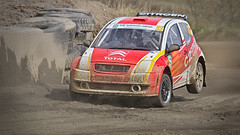 Rallycross action (Alistair_Images) Tags: sports car canon scotland action rally racing motor rallycross motorsport knockhill qpcc 60d
