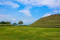 Los Guachimontones (Digital Biology) Tags: blue green mexico nikon ruins pyramid jalisco ring guachimontones teuchitln