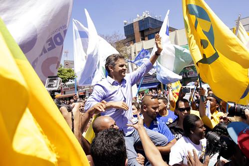 Aécio Neves - Contagem - 04/10/2014