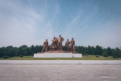 Kim Il-Sung Bronze Statue (reubenteo) Tags: north korea pyongyang