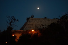during the walking on the Heraklion Venetian Walls (k_pitsillos) Tags: moon full venetian walls heraklion
