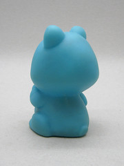 Creature from the Blue Raccoon (The Moog Image Dump) Tags: blue cute vintage toy taiwan kawaii figure raccoon racoon squeaker squeaky