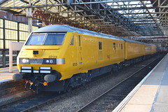 Network Rail DVT 82129 (Will Swain) Tags: uk england west station train coast driving cheshire britain main north rail railway trains line september crewe network trailer van railways 22nd dvt 2014 mainline 82129