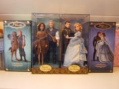 My DFDCs! (myuoi) Tags: fairytale john couple doll prince smith disney cinderella charming walt limited edition pocahontas dfdc