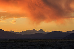 Mammoth Lakes Sunset