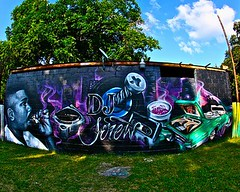 Dj Screw Mural Painted by SBK-LIFE Team (sbklife_713) Tags: djscrew sode soder screwston southernborn rabye sbklife screwmural screwstonmural