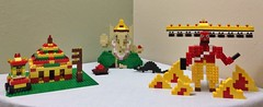 LEGOlu (sunil_s) Tags: festival temple lego god creative ganesh golu ganapathi ganpathi navarathri raavan raavanan