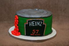 Heinz beans cake (Eldriva) Tags: cake tin beans heinz 57varieties
