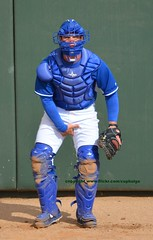 KCbullpen catcher nuts up (jkstrapme 2) Tags: jockstrap cup jock baseball candid crotch catcher grab adjustment bulge adjust