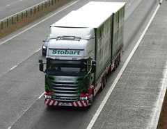 M471 - MX64 GPF (Cammies Transport Photography) Tags: truck victoria ellie lorry eddie flyover scania esl m74 lockerbie stobart eddiestobart m471 r450 mx64gpf