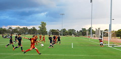 "RSL-AZ U-17/18 vs. Chivas USA • <a style=""font-size:0.8em;"" href=""http://www.flickr.com/photos/50453476@N08/15382798446/"" target=""_blank"">View on Flickr</a>"