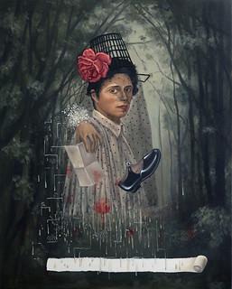 Claudia Peña. El Pintor Pintora. Galería Isabel Croxatto. Cortesía de Ch.ACO