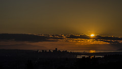 Sun Over Vancouver