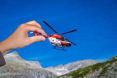 fly heli fly (blatnik_michael) Tags: mountain fun toy fly funny fuji malta kärnten helicopter fujinon spielzeug heli hubschrauber tiltshift kölnbreinsperre xc1650