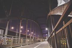 bridgewalkin pt.1 (Noah Lchting Williams // noahlwilliams.com) Tags: longexposure light night canon purple stockholm tripod prple explrore