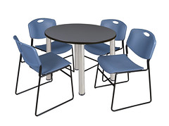 TB42RNDGYBPCM44BE (RegencyOfficeFurniture) Tags: blue table grey cafe gray chrome stacking breakroom cafeteria lunchroom regency kee laminate zeng 4400 antimicrobial stackable stackchair postleg chairkit regencyofficefurniture regencyseating tb42rndbp 4400be tb42rndbpcm chromeleg tb42rndgybp tb42rndgybpcm