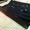 Leather panel accent kilt in black and silver going to IL. http://www.altkilt.com/leatherpanel