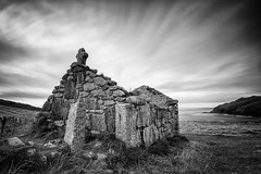 241 seconds (T_J_P) Tags: white black st canon mono big long exposure cornwall helens cape 5d 1740mm oratory stopper mkiii f4l 5d3