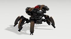 robot spider (Matthew McCall) Tags: robot spider war lego scifi