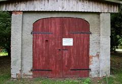 Jugendraum dicht (Malz77) Tags: verboten vorpommern mecklenburg bürgermeister geschlossen betreten verfolgt jugendraum zuwiderhandlungen nesow strafrechtlich