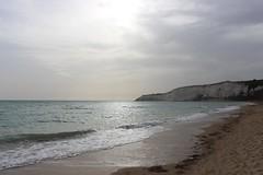 Beach at Eraclea Minoa, Sicily, Italy