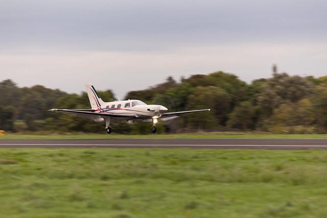 G-DTFL landing at St Angelo.