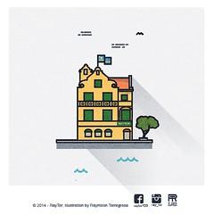 Penha building - Monuments of Curaao #raytor #raymiron #torregrosa #penha #curacao #willemstad (RayTor1) Tags: building media curacao monuments vector willemstad penha torregrosa korsow raytor raymiron raytormedia
