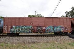 Hide • Croe (Revise_D) Tags: bench graffiti trains hide graff freight revised trainart fr8 bsgk benching croe fr8heaven fr8aholics revisedesign fr8bench benchingsteelgiants freightlyfe