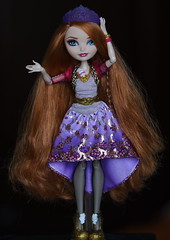 Holly O'Hair (turtle_cherry) Tags: dolls holly everafterhigh