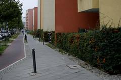 Bernauer Straße, Berlin 2014 (Spiegelneuronen) Tags: berlin wohnblöcke bernauerstrase