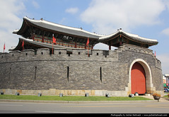 Paldalmun, Suwon, South Korea (JH_1982) Tags: world building heritage site gate south landmark korea historic unesco sur fortress hwaseong sud suwon  core corea  sdkorea gyeonggido  paldalmun