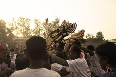 Durga Puja- 2014 (Soumen Nath) Tags: india art statue festival asian religious asia god delhi indian religion goddess culture photojournalism celebration clay idol tradition figurine hinduism kolkata puja durga durgapuja traditionalculture immersion navaratri bengali westbengal indianculture dugapujafestival
